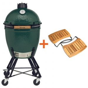 Big Green Egg Large incl. Nest & Acacia Egg Mates