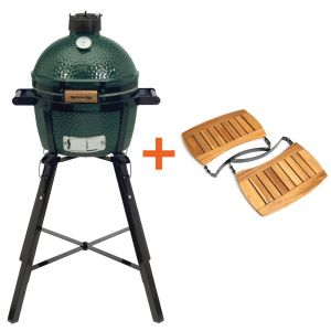 Big Green Egg MiniMax incl. Egg Carrier, Portable Nest & Acacia Egg Mates