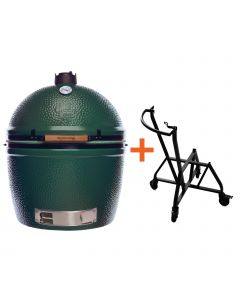 Big Green Egg 2XL incl. IntEGGrated Nest + Handler