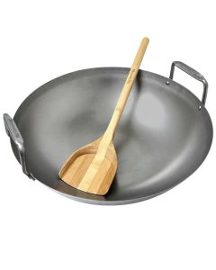Big Green Egg Carbon Steel Grill Wok