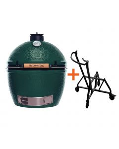 Big Green Egg XLarge incl. IntEGGrated Nest + Handler
