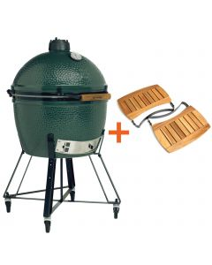 Big Green Egg XLarge incl. Nest & Acacia Egg Mates