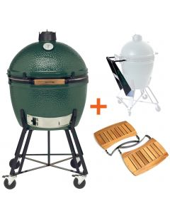 Big Green Egg XLarge incl. Nest, Nest Handler & Acacia Egg Mates